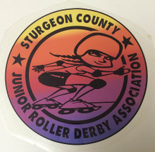 Sturgeon County Jr Roller Derby League Logo