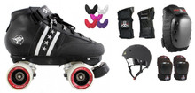 Bont Quadstar Roller Derby New Skater Package