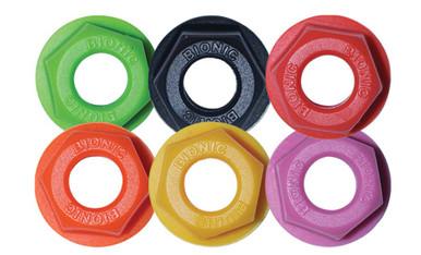 Bionic Roller Skate Wheel Lock Nuts (Set 8)