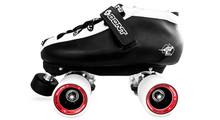 Bont Hybrid Microfiber Roller Derby Skate - Ballistic Wheels