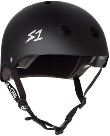 S ONE S1 Lifer Roller Derby Helmet - Black Matte