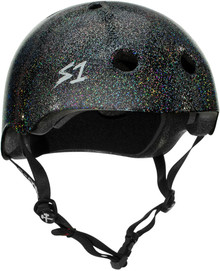 S1 Mega Lifer Helmet - Black Gloss Glitter