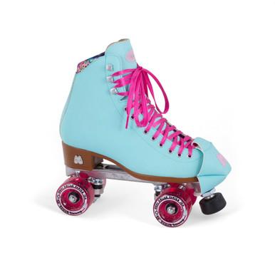 Moxi Beach Bunny Roller Skates Blue Sky