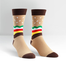Sock it to me - Men's Crew - Burger