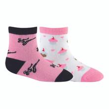 Sock it to me - Kid Pack - Pink Ninja + Cupcake