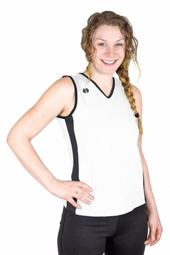 Pivotstar Sport Fit Uniform Jersey White
