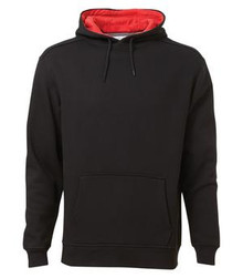 ATC™ PRO FLEECE HOODED SWEATSHIRT Black/Red