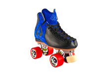Clearance Blue Antik AR-1 Storm Roller Skate - No wheels or toestop  - AR-1 with Rival Plates