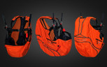 Custom Orange Acro Base