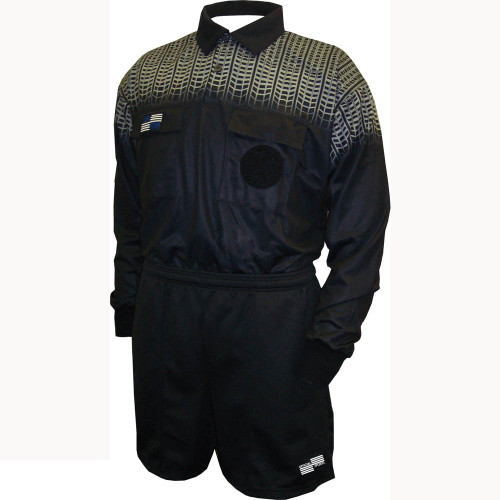 5020NC NISOA Coolwick LS Black Grid Shirt - Official Sports ...