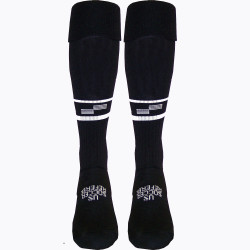 1305CL USSF Two Stripe Ref Sock