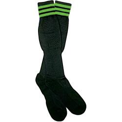 1309NG The Italian Ref Sock, Green Stripe