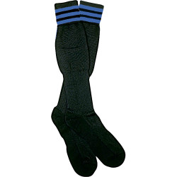 1309NB The Italian Ref Sock, Blue Stripe