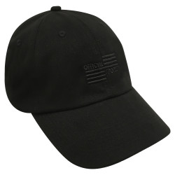 3024B Black Low Fit Cap W/Black OSI