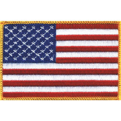 USAPAT USA Flag Emblem Patch