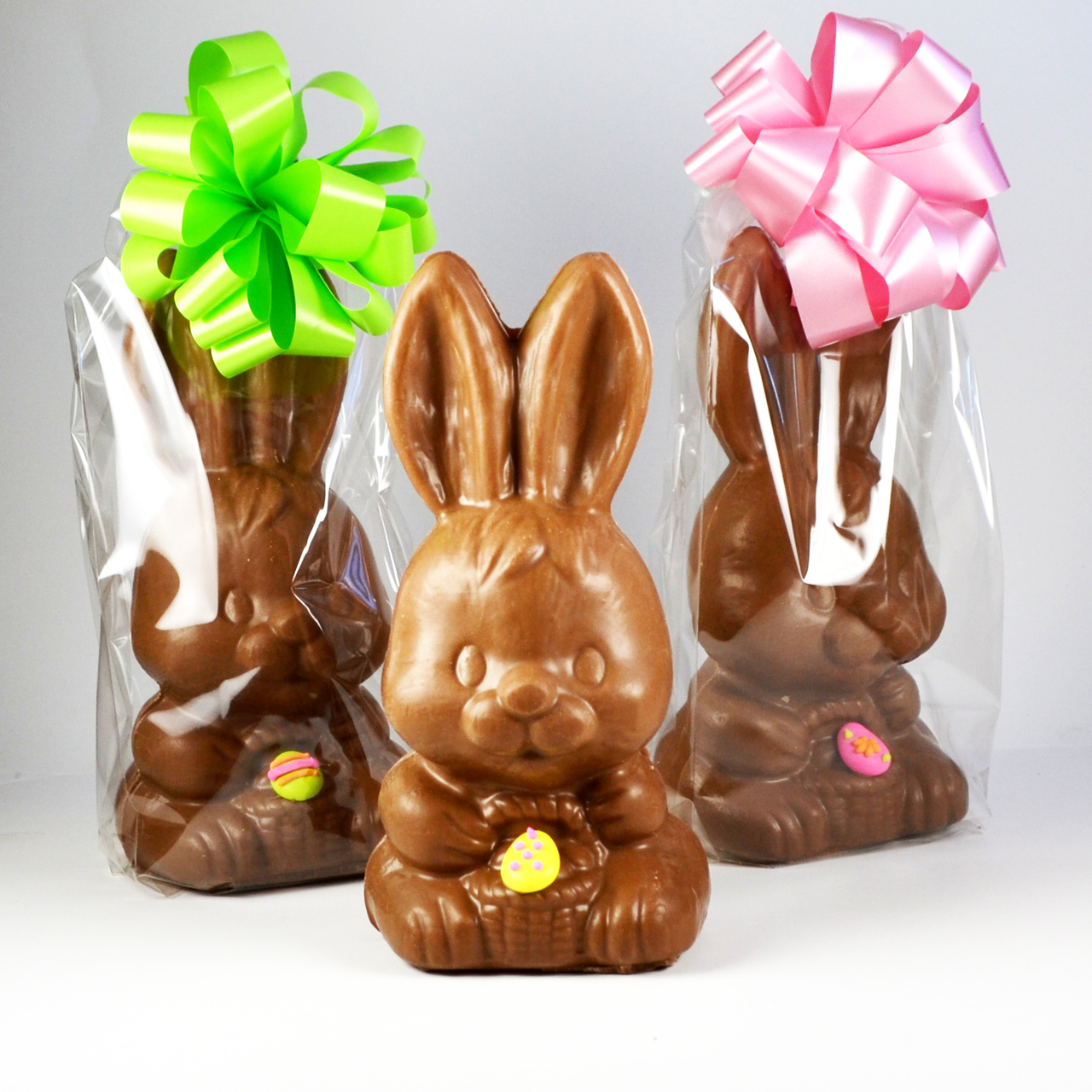 Big Head Chocolate Bunny - The Chocolatier