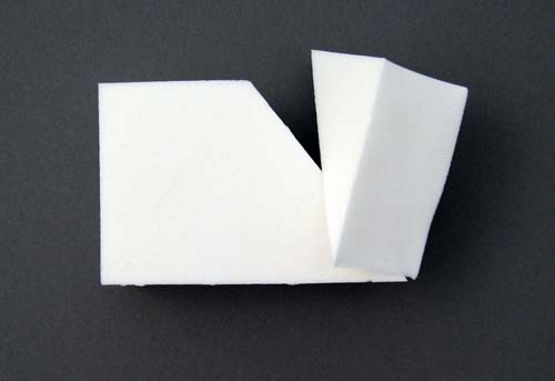 Non Latex Sponge Wedges - 8 Wedges per pack
