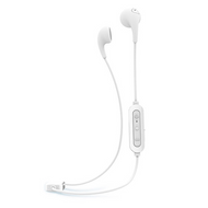 iLuv Bubblegum Bluetooth Earphones - White - BBGUMAIRWH