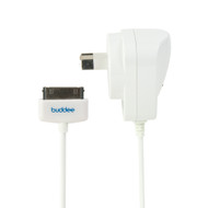 Buddee Wall Charger 30pin 2.1amp - White - BD208010-WH