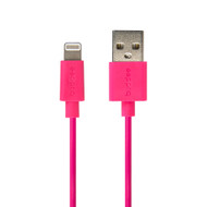 Buddee Lightning to USB MFI Round Cable 1m - Pink - BD401040-PK