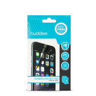 Buddee iPhone 6 (4.7') Clear Screen Protector - 4 Pack - BD606000-CL