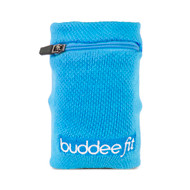 Buddee Fit Sports Wrist Band With pocket - Blue - BD700152-BL