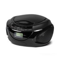 Buddee CD Player with Bluetooth and FM Radio - BD903208-BK