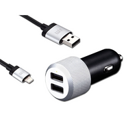 Just Mobile Highway Max Dual USB Car Charger 4.2A - CC-178
