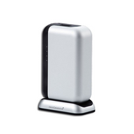 Just Mobile TopGum++ PowerPack & Charge Dock 6000mAh - Silver - PP-600SI
