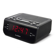 Buddee Digital Clock Radio AM/FM 0.6in LED Display - BK - BD903203-BK
