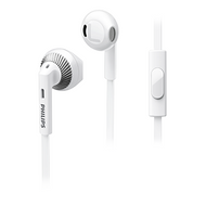Philips In-EarBud with Mic White - SHE3205WT