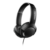 Philips BASS+ On-Ear - Black - SHL3070BK