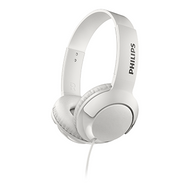 Philips BASS+ On-Ear - White - SHL3070WT