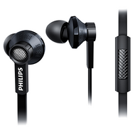 Philips In-Ear Headphone with Mic - Black - TX1BK