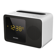 Philips Alarm Clock USB Bluetooth - White - AJT5300W