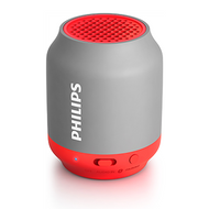 Philips BT Portable Speaker Grey/Pink - BT25G
