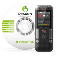 Philips DVT 2 mic Stereo 8GB Dragon Sftware included - DVT2710
