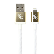 Gecko Lightning to USB Luxe Cable 1.2m - Gold
