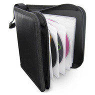 Gecko CD Wallet 24 Sleeve - Black