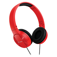 pioneer bluetooth headphones. pioneer enclosed dynamic fold headphones - red semj503r bluetooth