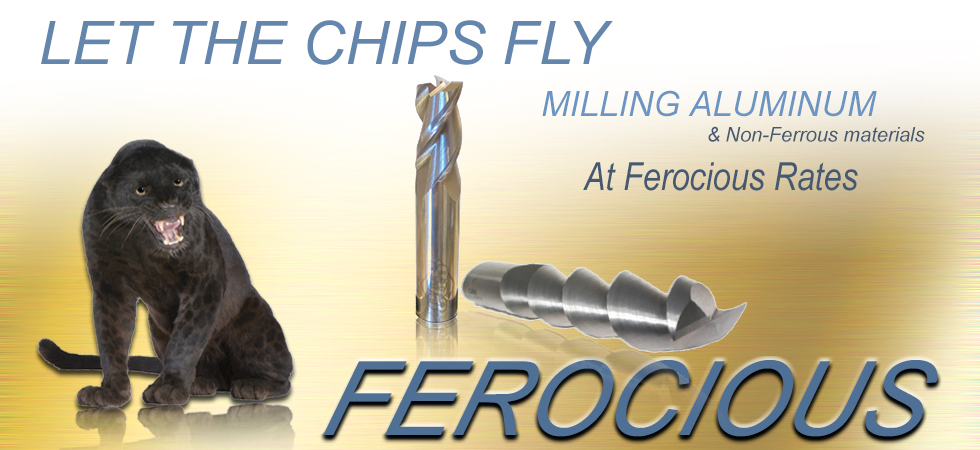 The Ferocious LIne of Carbide End Mills
