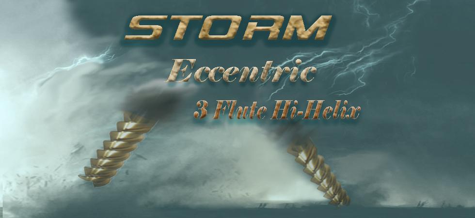 Storm Carbide End Mills - 3 Flute