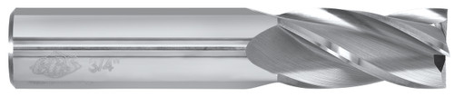 2 flute solid carbide end mills are ideal for rough and finish milling in a large range of materials. These end mills can be used in slotting, profile, plunge and side wall milling. Designed with an industry standard 30° degree helix and precision cutting edges these end mills will perform above the competition.