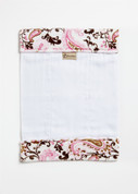 Paisley Pink Burp Cloth