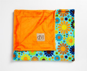 Flower Child Blanket Turquiose