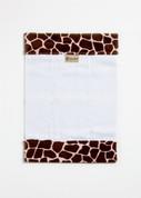 Cheetah Burp Cloth BURP_GIRAFFE_SAFARIPNK01