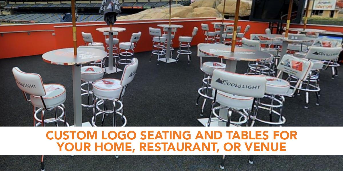 Custom Upholstered Seats, Breuer Chairs, Logo Bar Stools ...