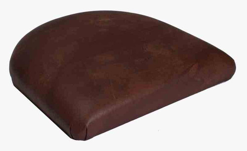 Tapered Replacement Seats in medium brown vinyl & Tapered Seat Cushion | Tapered Seat Pad | Seats and Stools islam-shia.org