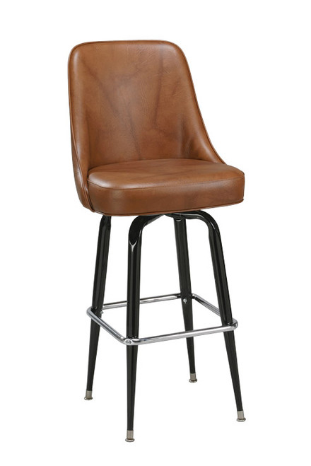 Perfect Our High Back Bucket Bar Stool 1 Has A High Back For Maximum Comfort, As Awesome Design