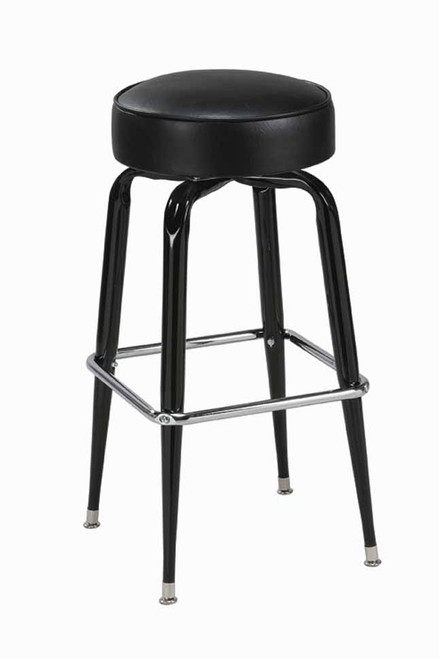 Square Bar Stools ~ Square base bar stool round seat seats and stools